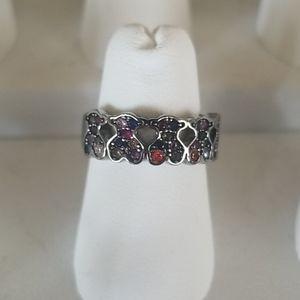Tous Sapphire Bear Ring